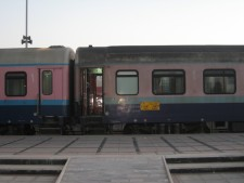 Sleeping cars at Yazd Station