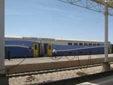 Double deck cars in Kerman