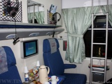 Nour sleeping car compartment